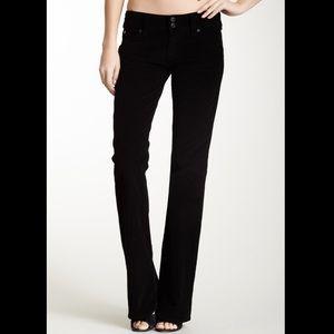 Hudson black bootcut corduroy pants